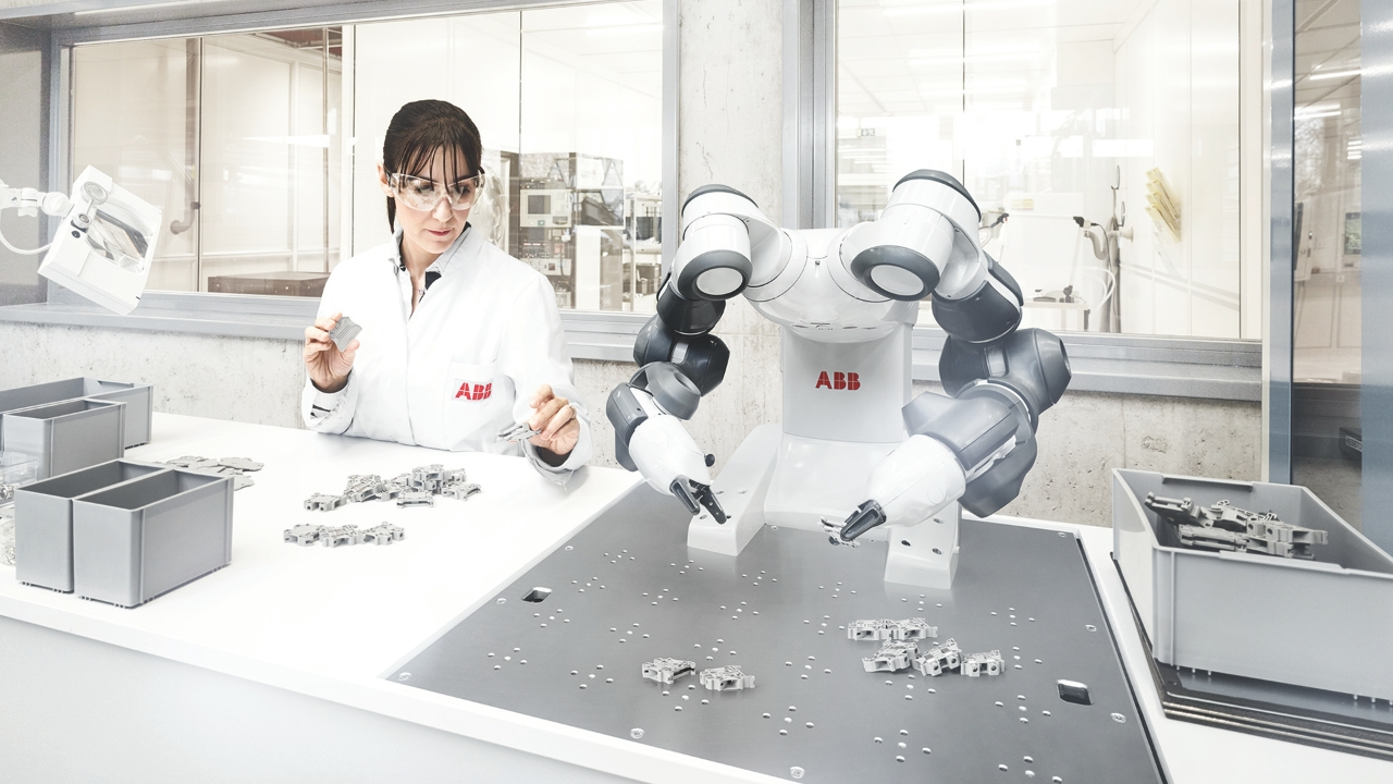 ABB Let's write the future. Together